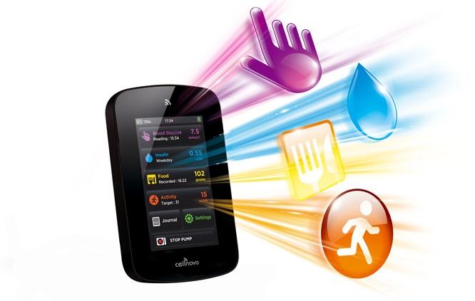 cellnovo insulin pump handset